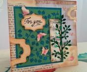 Leaves and Butterflies Card