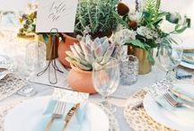 Wedding Tables & Table Decor / Beautiful ideas for wedding tables decoration