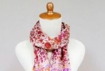Elegant Batik Scarves / scarves, batik, Indonesia, fashion