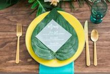 Tropical Weddings / Ideas for tropical decoration