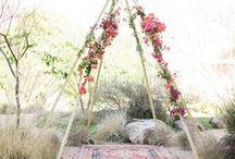 Wedding teepees