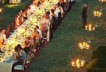 Wedding Table Plan / Ideas for table Arrangements in a wedding reception & ceremony