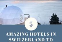 Best Hotels in Switzerland / Featuring our Favorite Hotels in Switzerland for the best travel