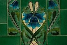 In Love with Art Nouveau / There's one thing in life I'm sure of and it's my Love for Art Nouveau , be it Pottery or be it Art...To me it's Romantic , it has Flow and Undeniable Style... / by Susan Tait