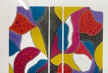Obras de Arte Espacio Aretha / Destacamos la presencia de las artes plásticas en Espacio ARETHA. La artista de origen hispano-italiano Cristina Baratto CASADEVALL, presenta su colección de pintura adaptando su obra a los diseños más vanguardistas de las colecciones de mobiliario de oficina de las firmas internacionales más prestigiosas, seleccionados por arquitectos y decoradores.