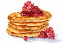 Pancake Art / Paintings, drawings, photography... Pancakes are just as picturesque as they are delicious.