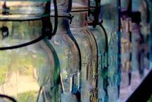 Mason & Apothecary Jars  / MASON JAR, ATLAS JAR, BALL JAR, CANNING JAR, VINTAGE MASON JAR,VINTAGE GLASS JAR, VINTAGE BALL JAR, APOTHECARY JAR, CANNING JAR  / by †☠Mystical Enchantments☠†