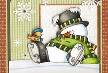 2 Christmas cards / by Alison Haan