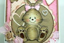2 Easter cards / by Alison Haan