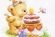 3 Birthday clipart