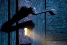 Under Lock and Key ✑ / skeleton keys, vintage keys, antique keys, vintage lock sets / by †☠Mystical Enchantments☠†