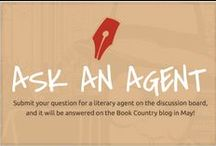 #AskaLitAgent on Book Country / Literary agents answer YOUR questions on how to get published!