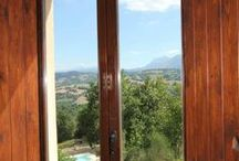 Apartment Gualdo, Le Marche, Italy / Impression of our 'spectacular-view-apartment' for 2-4 persons