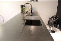 Blaty betonowe / Kuchenne i łazienkowe blaty betonowe