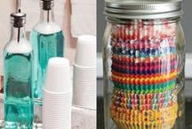 Organizing Tips / Ideas about how to stay organized.