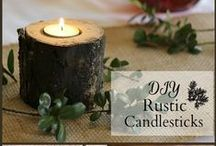 Rustic Christmas / Christmas decorating with naturals