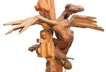 Wood Sculptures, Eugenio de la Torre
