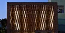 The Bricks / Bricks, architecture, design, shape, form, materials