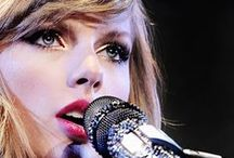 Taylor Swift LIVE / The girl in the dress wrote you a song...