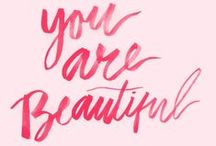Inspiration / Quotes and inspirational messages about life, beauty and being fierce. You glow girl!