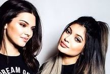 Kendall and Kylie / I'm not a Kardashian fan, but I think they are great fashion Icons