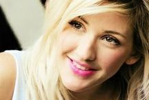 Ellie Goulding / I love her songs. She has an incredible voice and is really talented