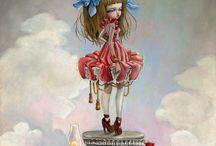 Art by Kukula / Pop Surrealism