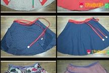 Falda reversible / http://yporquenoguidi.blogspot.com.es/