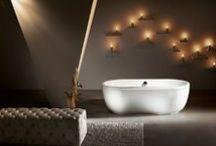 Bañeras exentas / Free Bath Tube / Ideales para un baño relajante / Free Bath Tubes for a relaxing bath / by Decofilia | Decoración