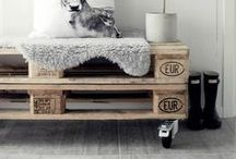Palets / Pallets / Decorar con pallets / Pallet design