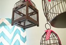 Jaulas / Cages / #decorar utilizando #jaulas / ideas para #reciclar jaulas / #recycling #cages for #designing