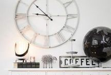 Relojes / #Decoracion de paredes: Ideas para #decorar con #relojes.