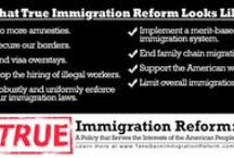 True Immigration Reform / Learn what TRUE Immigration Reform looks like. More information: www.TakeBackImmigrationReform.com