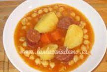 Sopas y Guisos   Soups & stews / Sopas, guisos, recetas de cuchara
