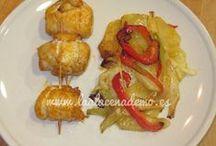 Pescados y Mariscos   Fish & Seafood / Recetas de pescados y mariscos