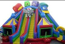 Circus Themed Bouncers / Join the Circus with our fun bouncy castles!