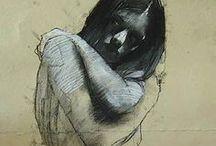 people & drawing