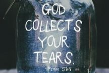 Tear bottles / You have kept count of my tossings, put my tears in your bottle. Are they not in your book? psalm 56.8