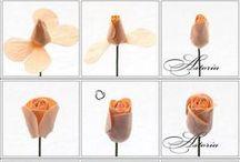 diy flowers / ohjeita kukkien tekoon