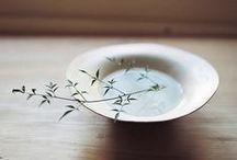 ikebana & modest arrangement