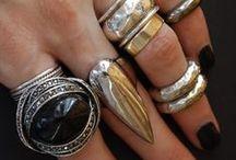 boho & rings