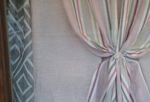 Le mie creazioni / Tende ,tendaggi ,paralumi e articoli per arredamento di interni ,confezionati artigianalmente