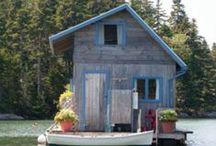 cabin & boathouse
