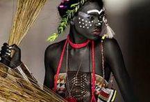 tribal & shaman