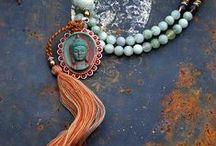 mala & tassel necklace