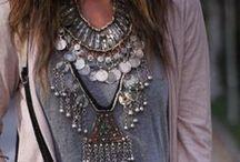 boho & necklace