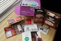 #treatvoxbox via Influenster / Samples of goodies I got for free.