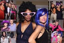 Party Portraits Mirror Parlor! / Pictures collages from photos taken by our Magic Mirror Photo Booths at events!