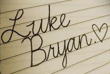 Luke Bryan ♥ / by Brooke Harris✨