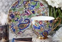 TEA CUPS & POTS / by Karen Moore